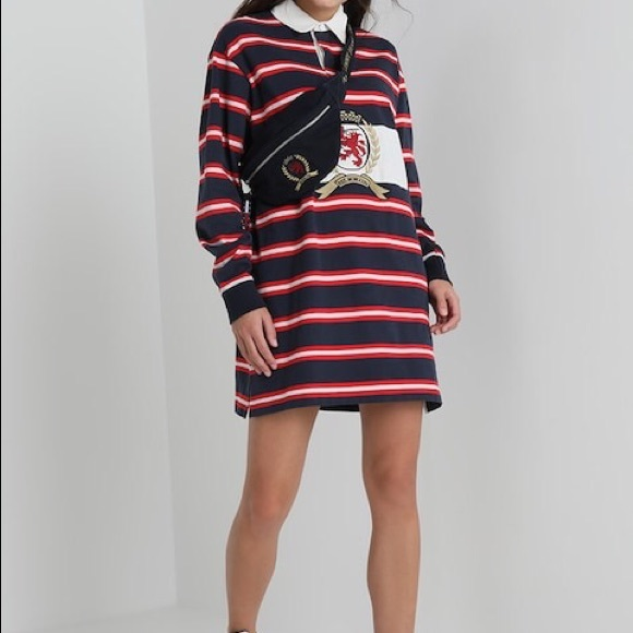 a47236b4c57 TOMMY JEANS Rugby Dress NWT